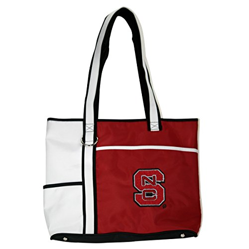 - NCAA North Carolina State Wolfpack Tote Bag with Embroidered Logo