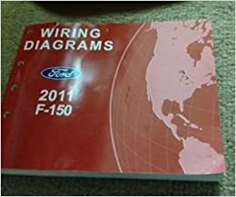2011 ford f-150 f150 truck wiring diagrams service repair shop manual ewd  2011: ford: amazon com: books