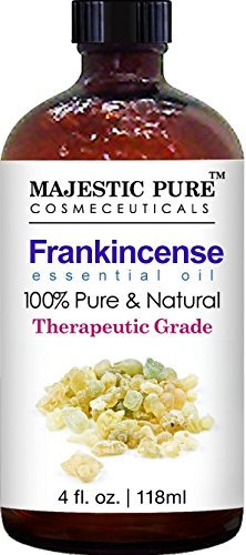 Majestic Pure Frankincense Essential Oil, 100% Pure and Natural with Therapeutic Grade, Premium Quality Frankincense Oil, 4 fl. oz.