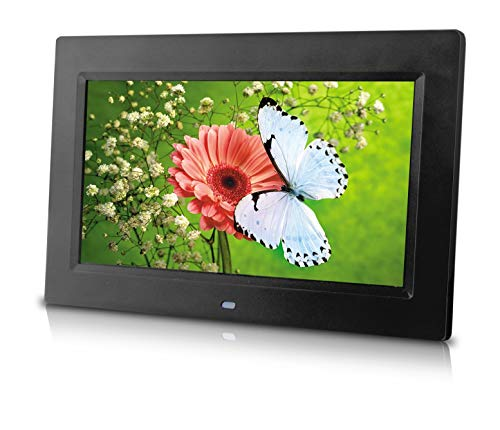 Hi Resolution Screen - 10 inch Digital Photo Frame w/Hi-Resolution Screen. Use Your SD Card or USB Drive for Photo Access. Includes a Variety of Transition and slideshow Options