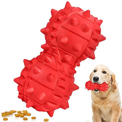 G.C Hundespielzeug unzerstörbar Kauspielzeug Hund für Aggressive Kauer, langlebiges Robust Naturkautschuk Zahnreinigung…