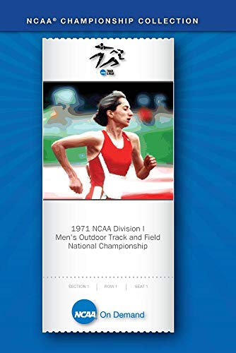 1971 NCAA(r) Division I  Men's Outdoor Track and Field National (1971 Ncaa Basketball)