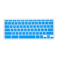 """CaseBuy HP Chromebook 14-Inch Keyboard Protector, Ultra Thin Keyboard Silicone Protector Skin Cover for HP Chromebook 14"""" Laptop(Semi-Blue)"""