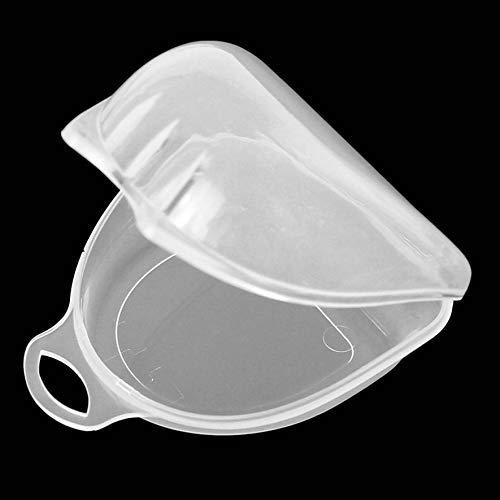 8Eninite Mouth Guard Case Orthodontic Dental Retainer Box Denture Storage Container Transparent