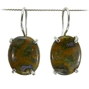 Mystic Silver Jewellery -Pendientes para Mujer de color Multicolour de talla Ver Descripción