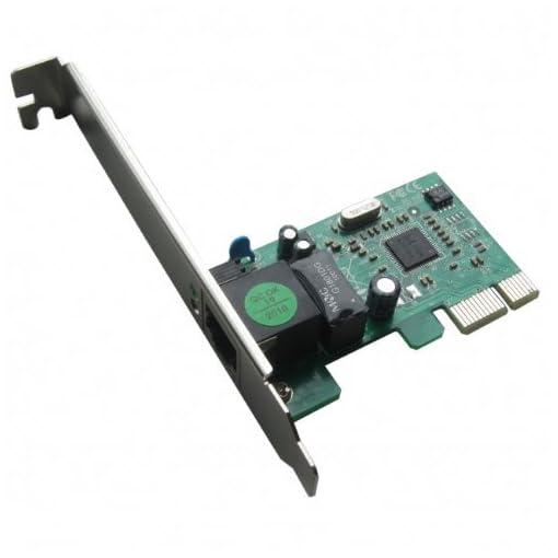 HiRO H50303 10/100/1000 Internal PCI Express PCIe PCI-E x1 Gigabit Ethernet  Card Windows 10 8 1 8 32-bit 64-bit Driverless Installation Plug n Play