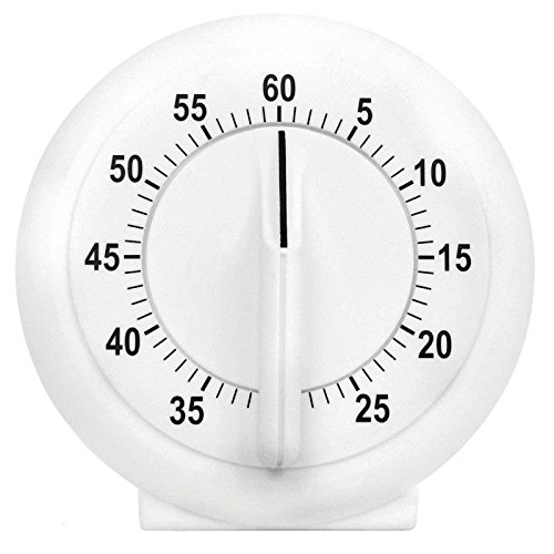 Acu Rite 00957A1 Kitchen Essentials 60 Minute Short Ring Timer ()