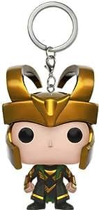 Amazon.com: Funko Pocket Marvel – Loki Pop Llavero: Funko ...