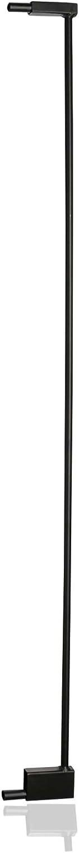 12.9cm Safetots Extra Tall Matt Black Pet Gate Extension Range