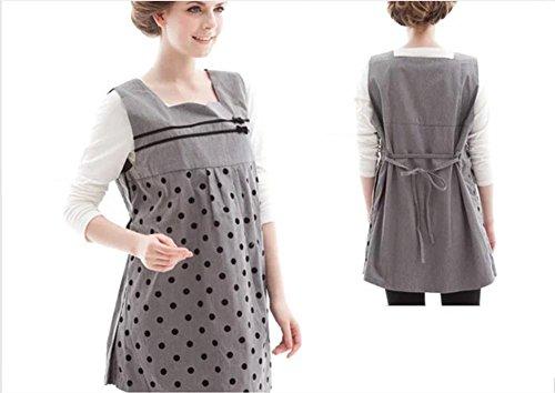 Vestido de maternidad antiradiación genuino chaleco 2