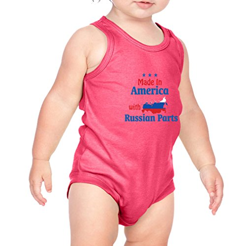 Made In America With Russian Parts Combed Ring-Spun Cotton 3/8