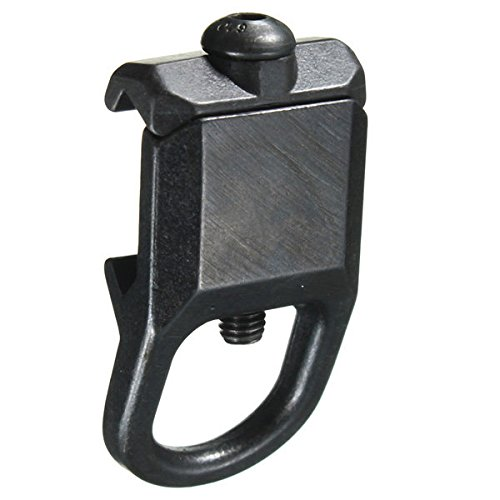1X Steel Sling Mount Slings Buckle Plate Adapter Hook Attachment For 20mm Rail