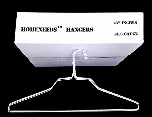 White Wire Hangers (50)