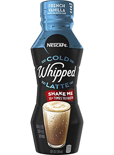 Nescafe Cold Whipped Latte, 10 ounce bottles (French Vanilla)