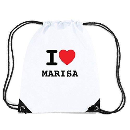 JOllify MARISA Turnbeutel Tasche GYM5719 Design: I love - Ich liebe