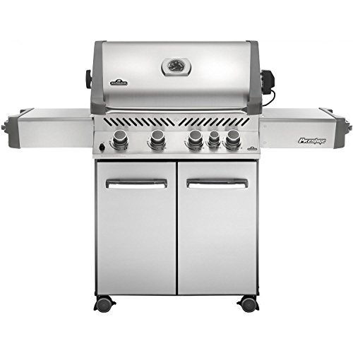 Napoleon Grills Prestige 500 with Infrared Rear Burner Stainless Steel Propane Grill