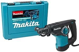 Makita HR2810T - Martillo Ligero Sds-Plus 800W Vertical 3 Posiciones 3.4 Kg + Portabrocas Auto