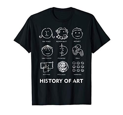 history of art shirt ()