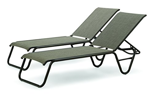 Sling Chaise Lounge Amazon: Christopher Knight Home 299932 Venice Outdoor Mixed Black