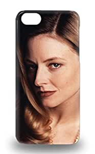 Iphone Slim Fit Tpu Protector Jodie Foster American Female Jodie F House Of Cards The Silence Of The Lambs Shock Absorbent Bumper Case For Iphone 5c