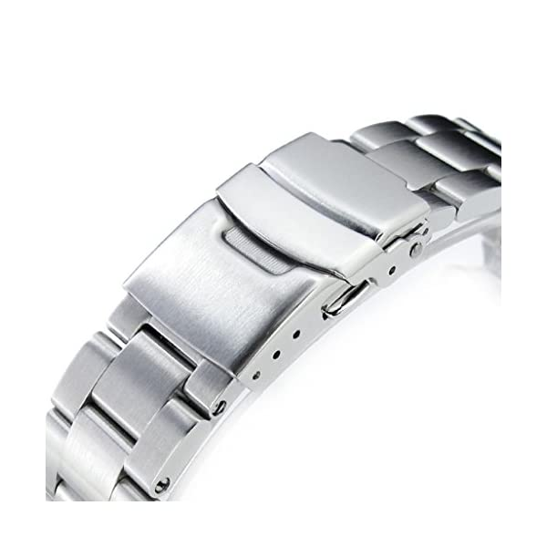 22mm-Super-Oyster-316L-Stainless-Steel-Watch-Band-for-Orient-Mako-II-Ray-II-Diver-Clasp-Brushed