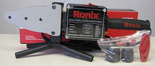 Ronix HDPE PE Pipe Butt Welder Socket Heater Machine 20 to 25mm 220V