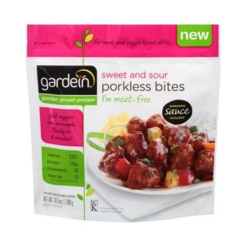 Gardein Sweet and Sour Porkless Bites, 10.5 Ounce - 8 per case.