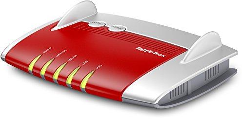 AVM FRITZ!Box 4020 WLAN-Router für Anschluss an Kabel-/DSL-/Glasfasermodem (WLAN N, 450 MBit/s (2,4 GHz) 4 x Fast-Ethernet, 1 x USB 2.0, Mediaserver)