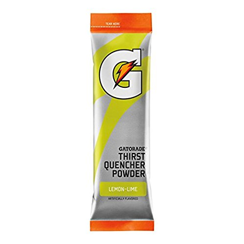 (Gatorade Powder Sticks, Lemon-Lime, Makes 20 ounces/stick (Pack of 8))