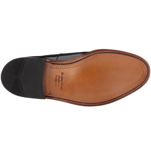 uomo Royal Nero Scarpe Black Polished classiche Leather Loake dtTwq8yUSq