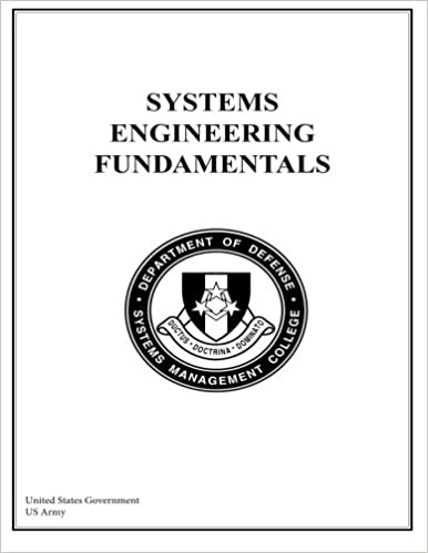 Systems Engineering Fundamentals United States Government Us Army