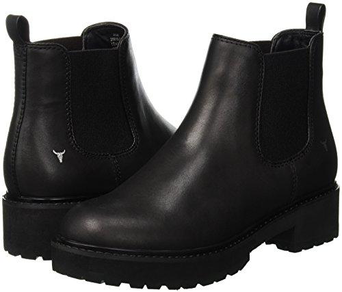 black Femme Windsor Bottes Smith Classiques 001 Corina Noir Own6TqvF