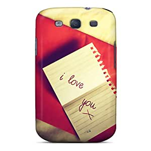 New Diy Design Msg Of Love For Galaxy S3 Cases Comfortable For Lovers And Friends For Christmas Gifts