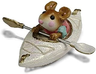 product image for Wee Forest Folk MS-22 Drifting Alone (White)