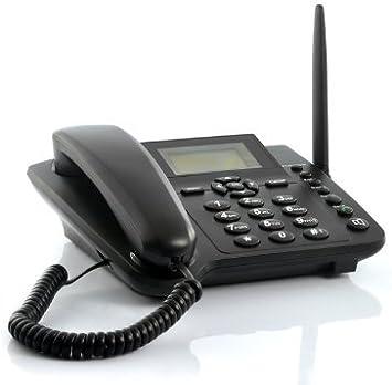 Emperor of Gadgets® inalámbrico gsm teléfono de Escritorio – Escritorio de Estilo teléfono con Ranura para Tarjeta SIM: Amazon.es: Electrónica