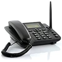 Wireless GSM Desktop Phone - Desktop Style Phone with SIM Card Slot by The Emperor of Gadgets®