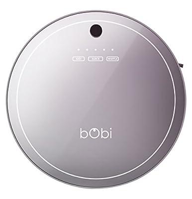 bObsweep Bobi Pet Robotic Vacuum Cleaner and Mop, Scarlett