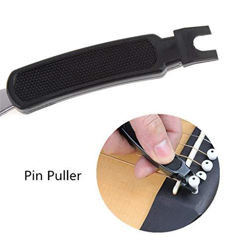 Guitar Winder and Cutter,Designed to Fit Most Guitars,String Winder and Cutter Includes Bridge Pin Puller Peg Winder