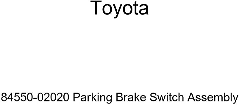 Genuine Toyota 84550-02020 Parking Brake Switch Assembly