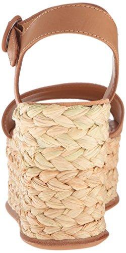 Dolce Vita Women's Dane Wedge Sandal Caramel Leather Q3p37b