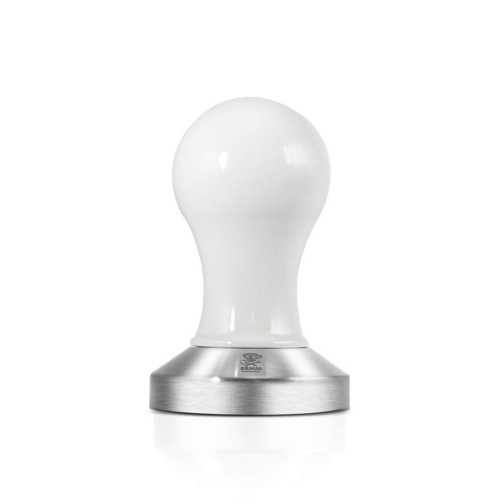 Espresso Parts Compressore Coffee Tamper w/ 58mm Flat Base (WHITE) by EspressoParts