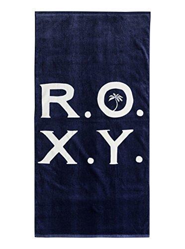 Roxy Womens Pretty Simple Logo - Beach Towel - Women - One Size - Blue Crown Blue One Size