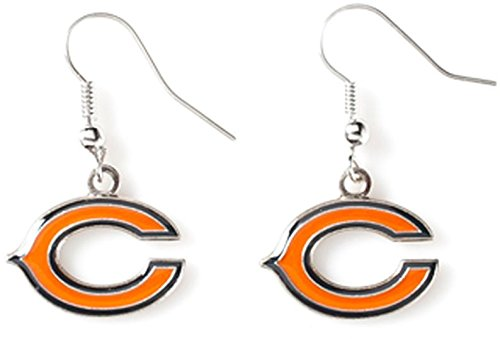NFL Chicago Bears Logo Dangler Earrings