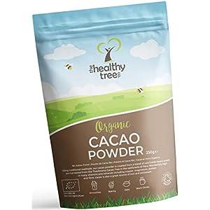 Polvere di Cacao Crudo Bio di TheHealthyTree Company per Yogurt, Frullati e Ricette da Forno - Alto Contenuto di… 2 spesavip
