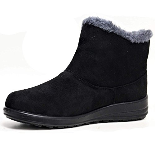 Foster Footwear - Botas Chelsea adultos unisex mujer chica negro