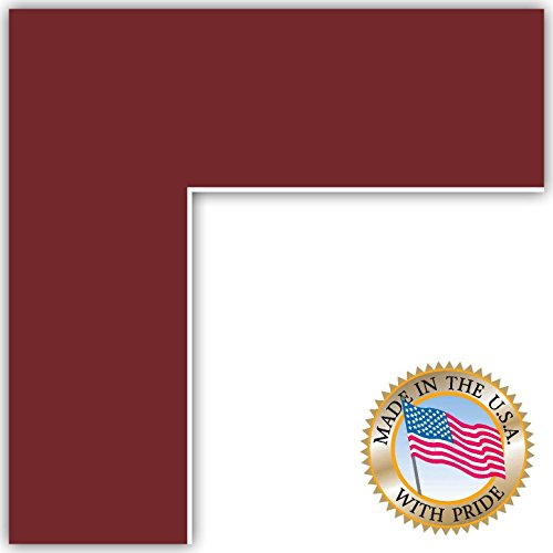 20x24 Merlot / Maple Leaf Custom Mat for Picture Frame with 16x20 opening size