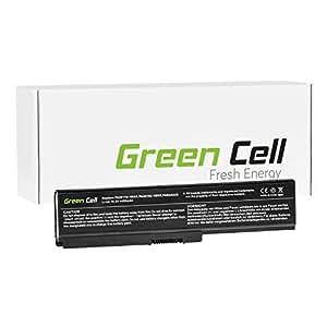 Green Cell® Portátil Batería para Toshiba Satellite Pro C650 Ordenador (4400mAh)
