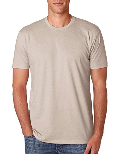 next-level-apparel-n6210-mens-premium-cvc-crew-sand-large