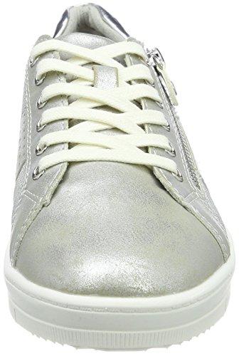 37 Sneakers Silber 23605 Tamaris Comb Femme Silver EU Basses 0FUqxw