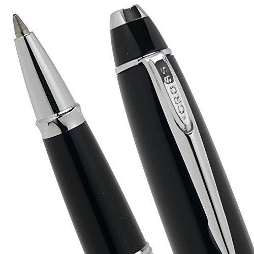 A.T. Cross Special Affinity Distinctively Dapper Opalescent Black Rollerball Pen by A.T. Cross